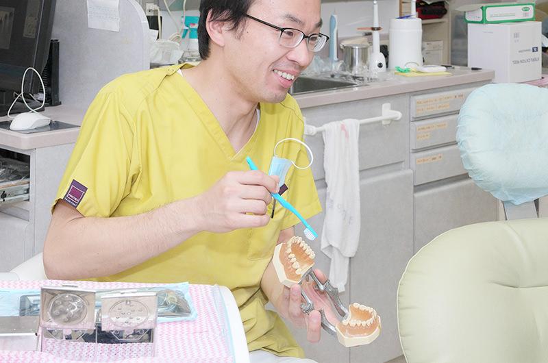 当院の入れ歯治療・こだわり